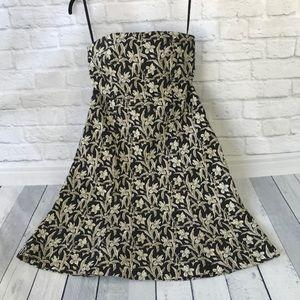 Gap Strapless Dress Size 8 Stretch